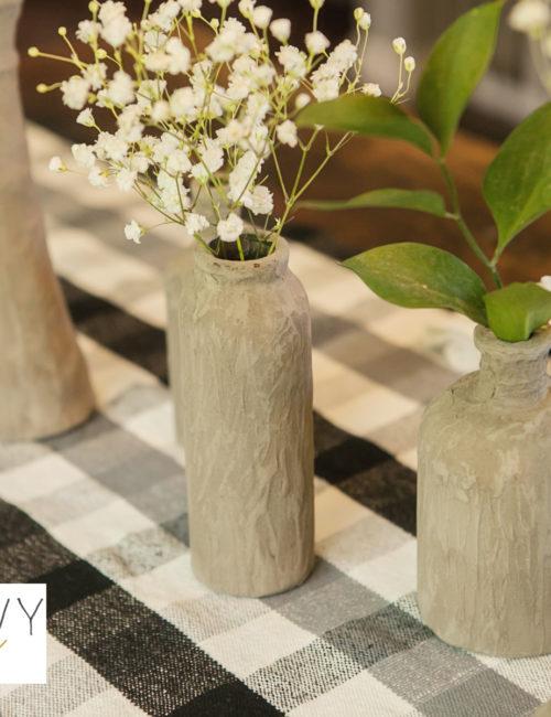 DIY Cement Vase